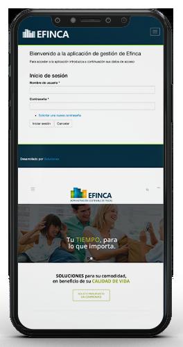 Aplicación Gestión EFINCA